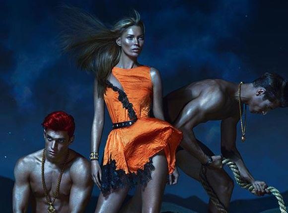 Nowa kampania Versace wiosna/lato 2013: Seksownie i drapieżnie